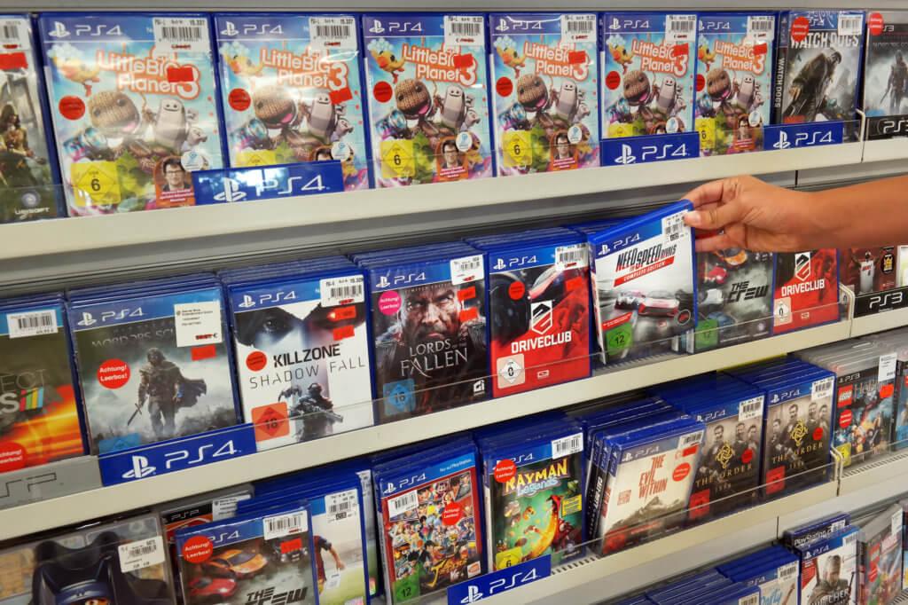 PlayStation spil
