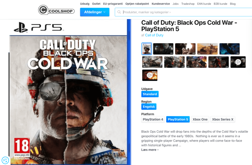Call of Duty - Black Ops Cold War - PS5