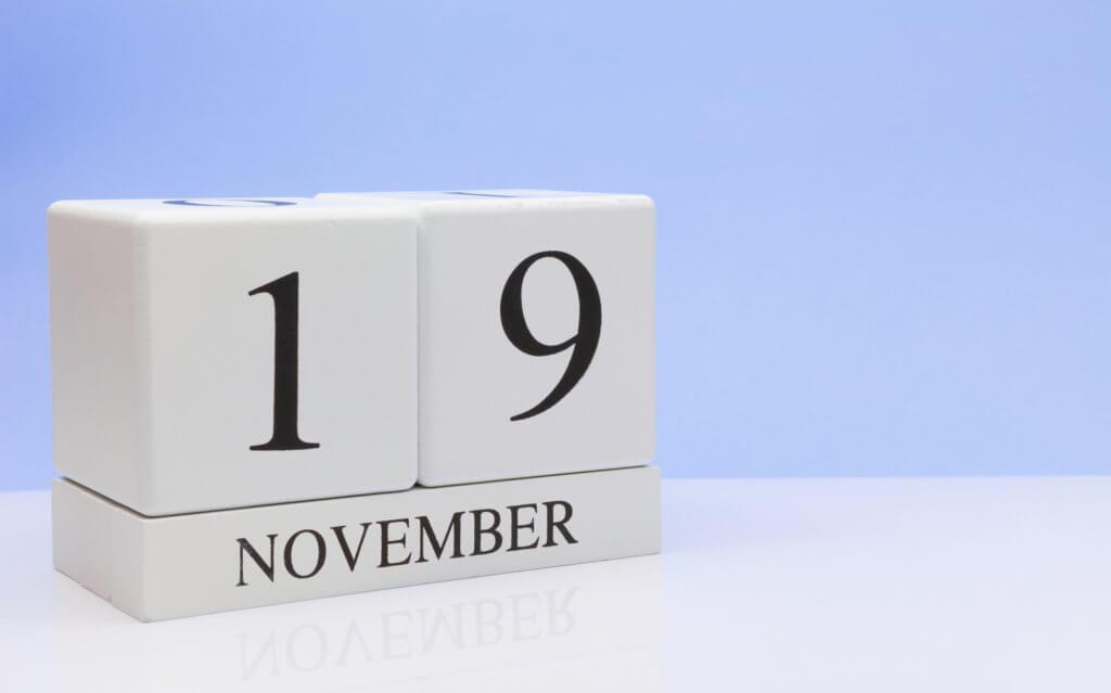Dato - 19. november