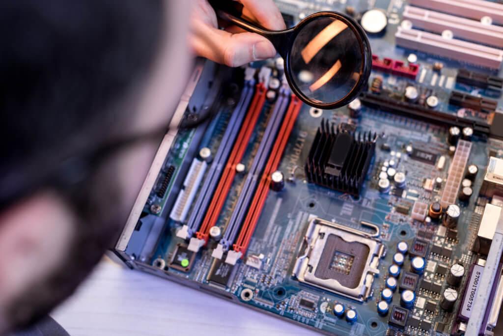 Reparation af teknik