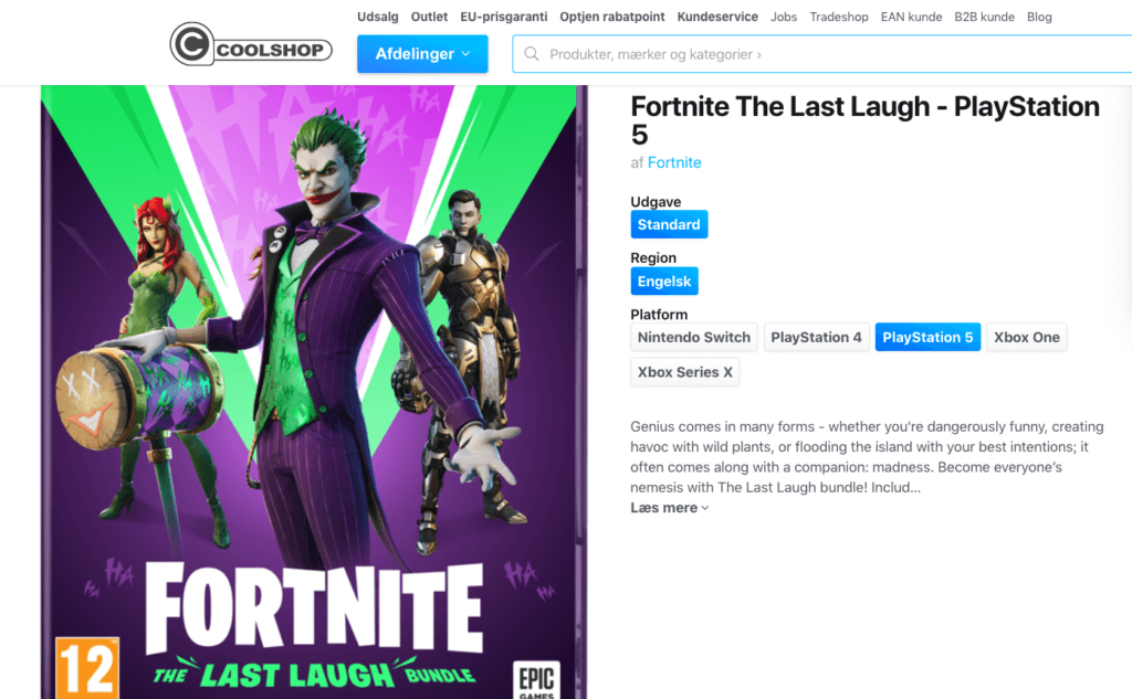 Fortnite The Last Laugh - PlayStation 5