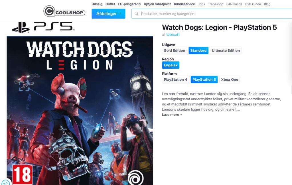 Watch Dogs - Legion - PS5