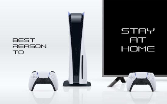 PS5 på lager online