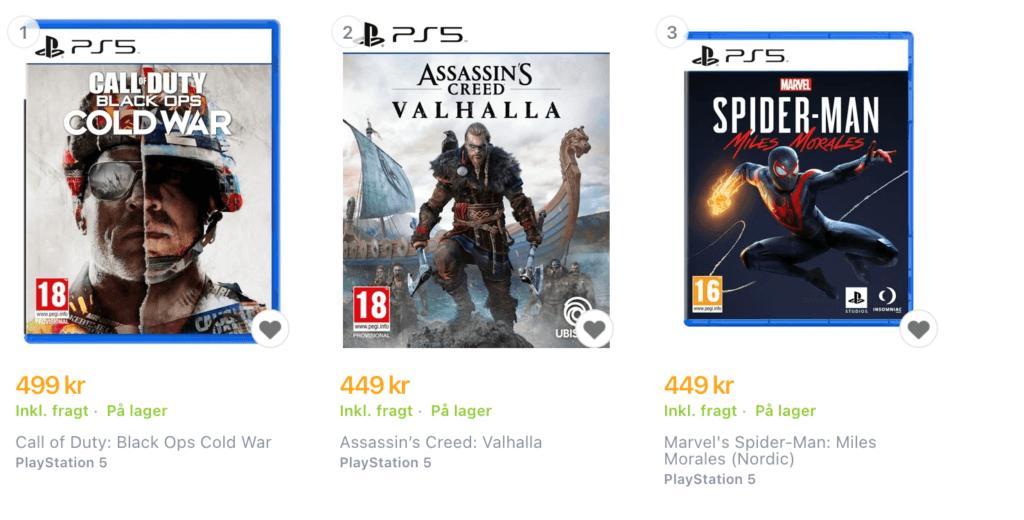 PS5 spil