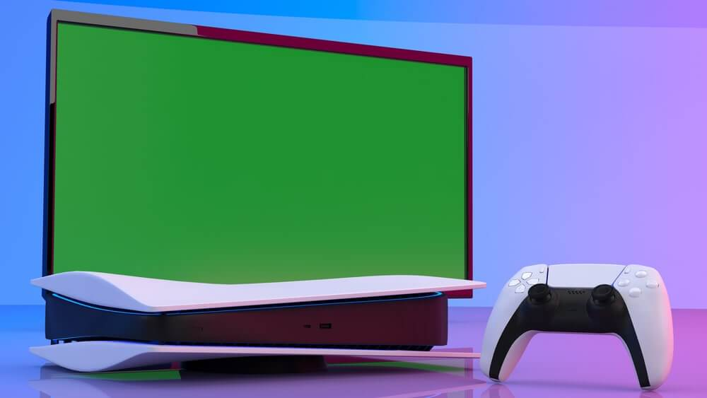 PlayStation 5 og fjernsyn